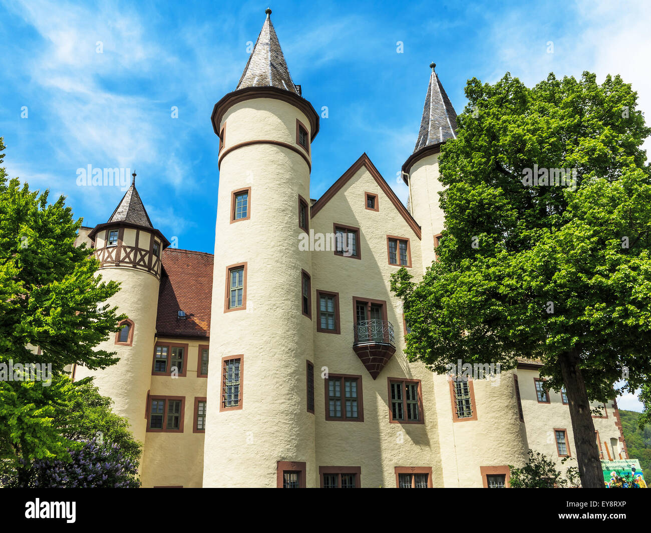 The spessart museum snow white castle in lohr am main for Heimbach lohr am main
