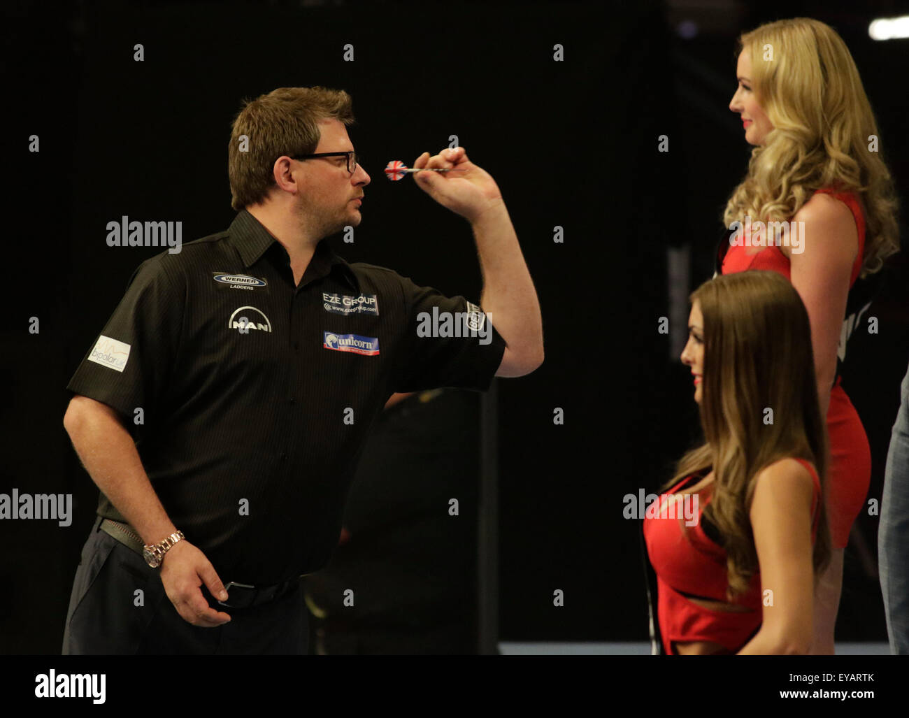 blackpool uk 25th july 2015 betvictor world matchplay darts