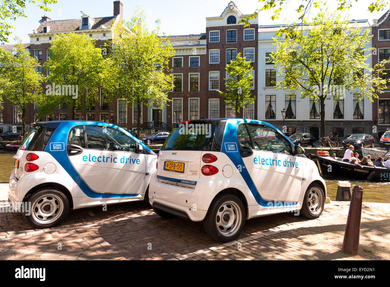 Electric Rental Cars In Amsterdam Where The Eco