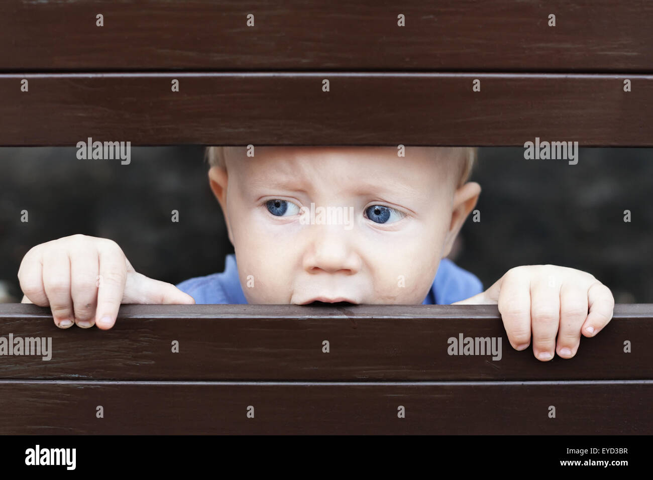 sad baby stock photos & sad baby stock images - alamy
