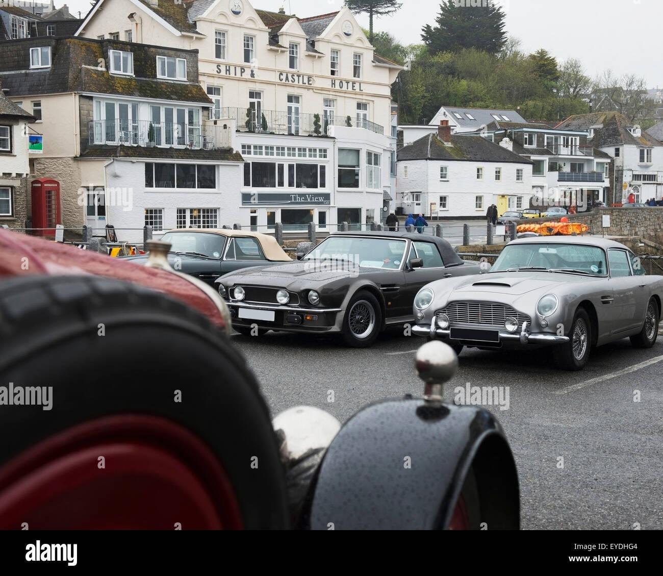 United Kingdom England Cornwall St Mawes Classic Car Festival