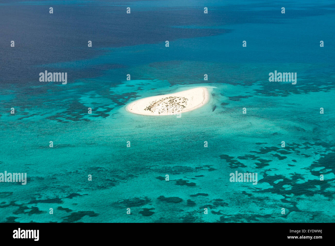 Aerial view of hospital key dry tortugas national park florida stock photo royalty free image for Garden key dry tortugas national park