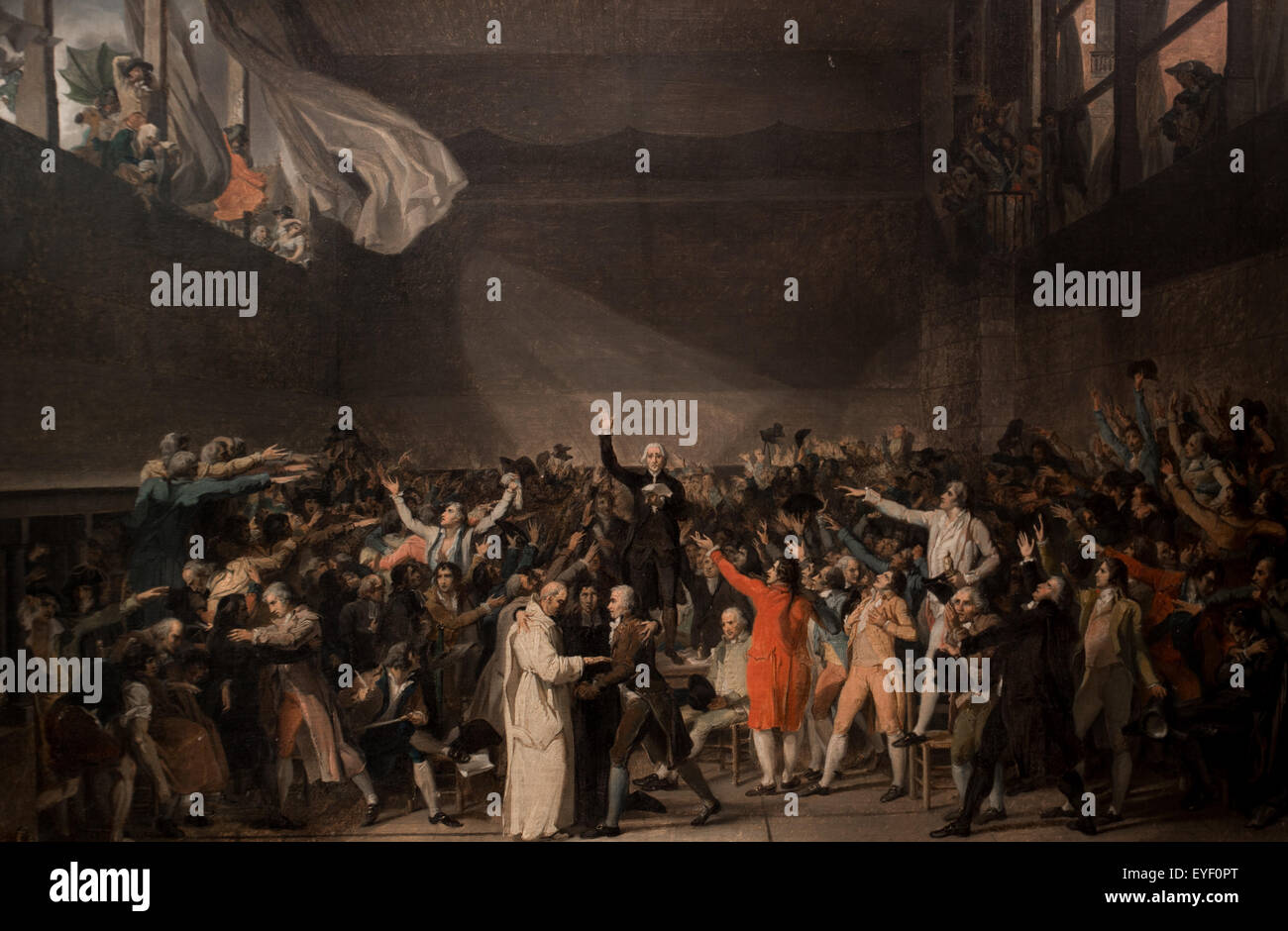 The Tennis Court Oath, June 20th 1789 The Deputy Of Middle Class ...