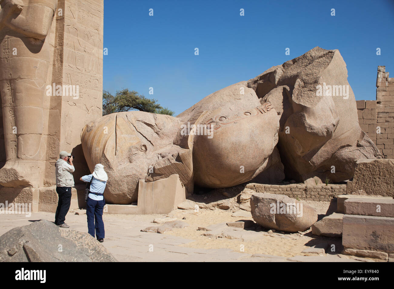 an analysis of the broken statue of ozymandias in egypt Ozymandias by percy bysshe shelley including his arrogance in his claim on his statue, my name is ozymandias  and a broken and decaying statue is all that.