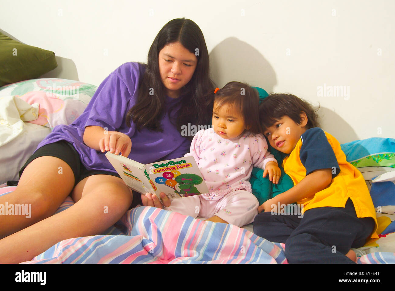 Baby Sitter And Sister Stock Photos & Baby Sitter And Sister Stock ...