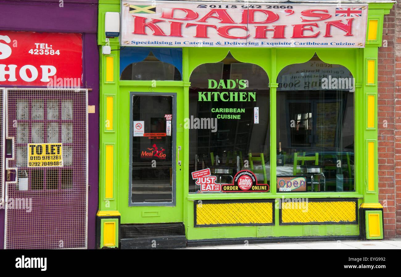 Dad's Kitchen on Alfreton Road in Nottingham, Nottinghamshire ...