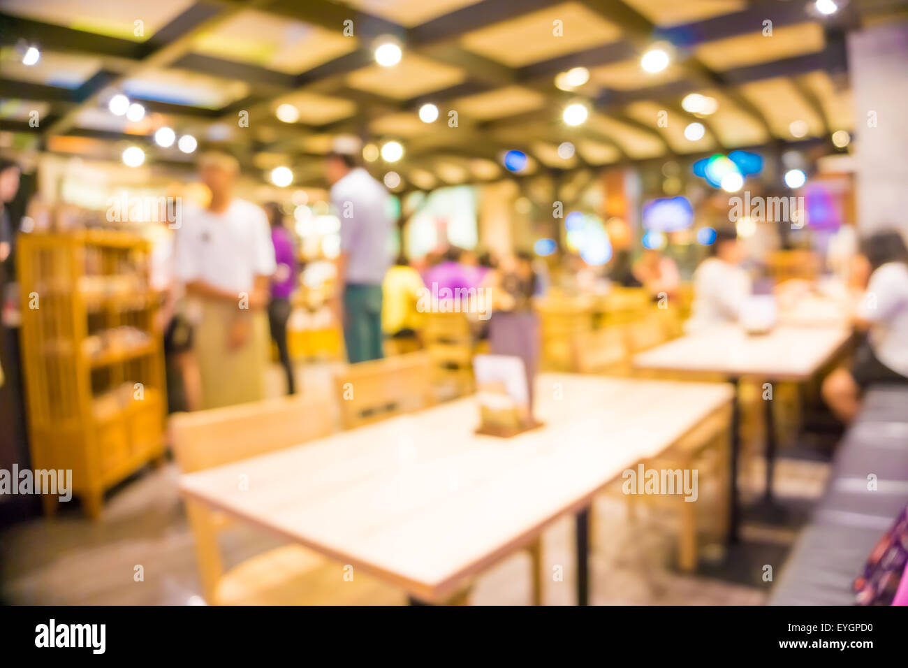 Restaurant Background With People Blurred Restaurant Background People In Coffee Shop Blur