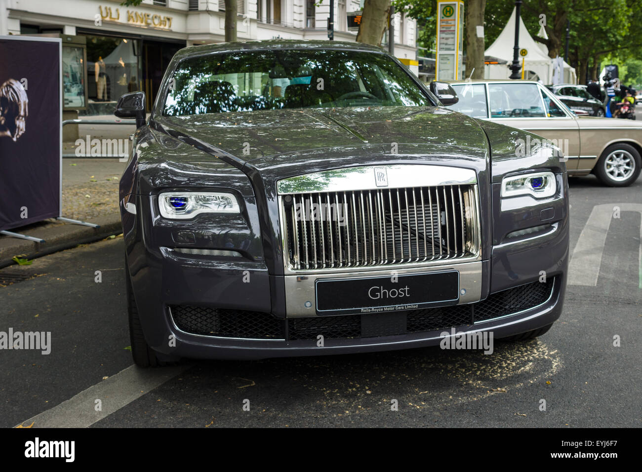 berlin june 14 2015 full size luxury car rolls royce ghost since stock photo royalty free. Black Bedroom Furniture Sets. Home Design Ideas