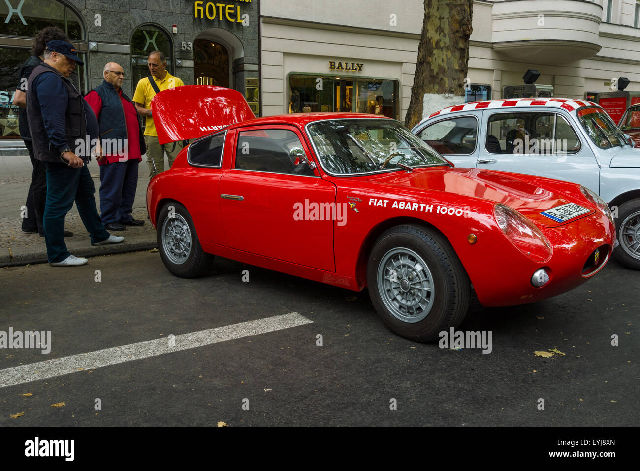 berlin june 14 2015 sports car fiat abarth 1000 bialbero zagato stock photo royalty free. Black Bedroom Furniture Sets. Home Design Ideas