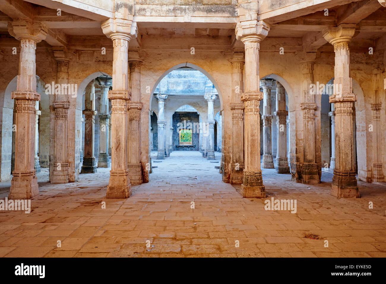The spooky uparkot fort junagadh gujarat - India Gujarat Junagadh Uparkot Fort Juma Masjid Mosque