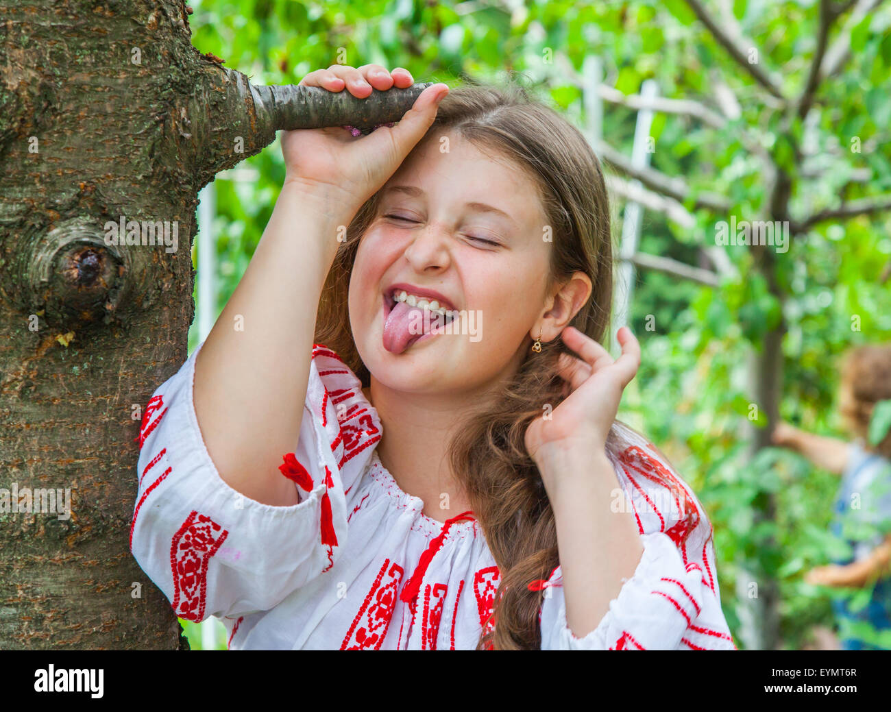 Pretty 10 Year Old Caucasian Stock Photos & Pretty 10 Year Old ...