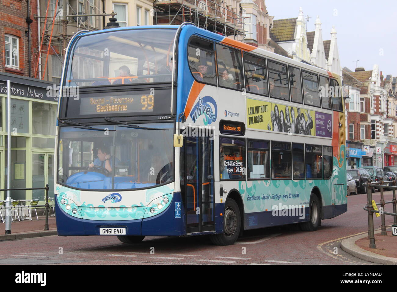 A stagecoach south east alexander dennis adl enviro 400 for Time table bus 99