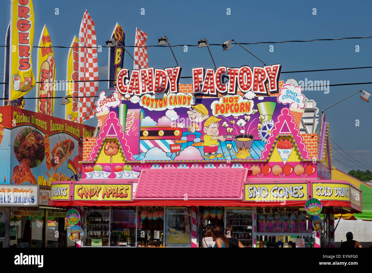 Candy Factory Stock Photo Royalty Free Image 85910384