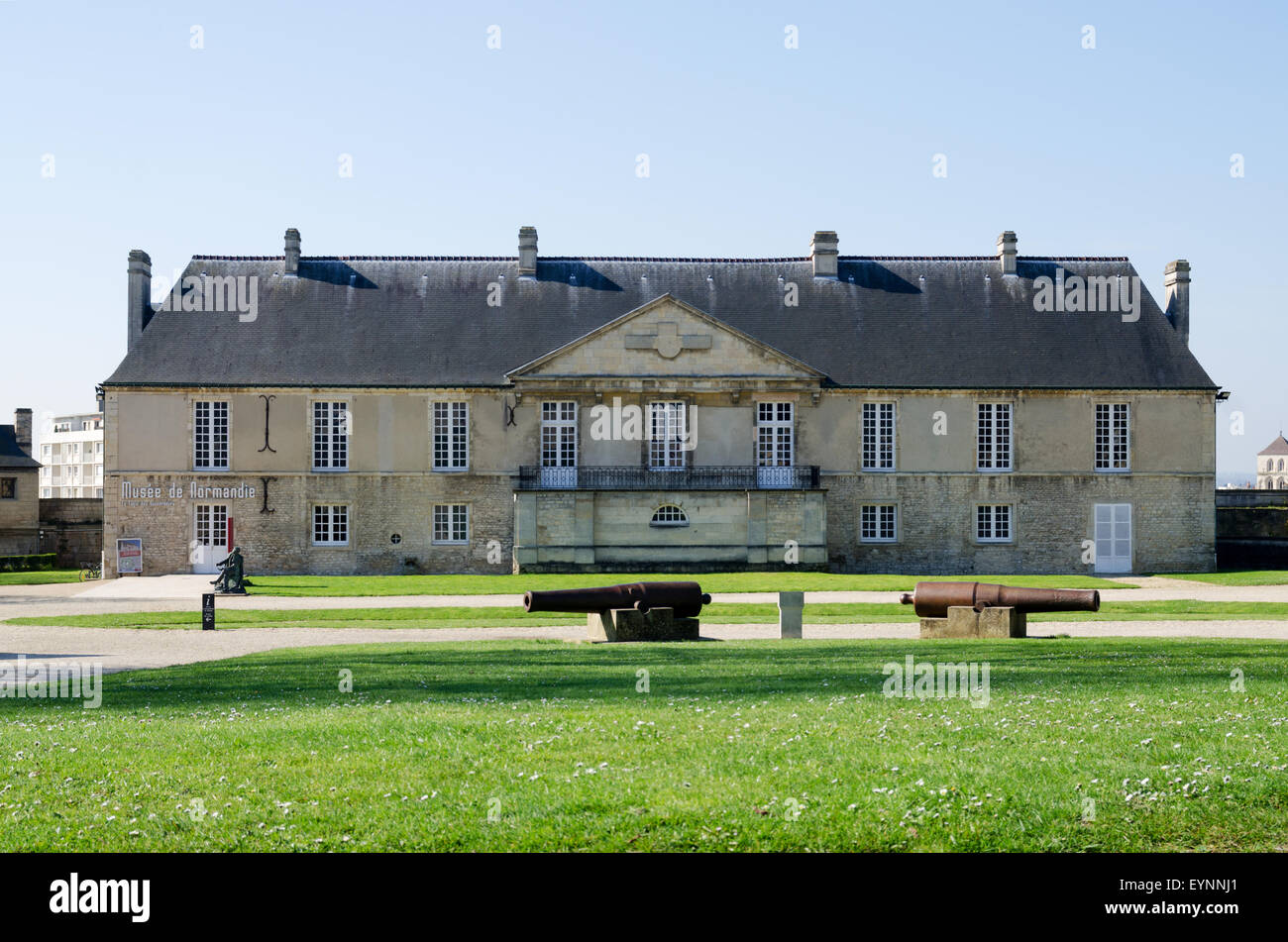 exterior of the musee de normandie normandy museum caen normandy stock photo royalty free. Black Bedroom Furniture Sets. Home Design Ideas