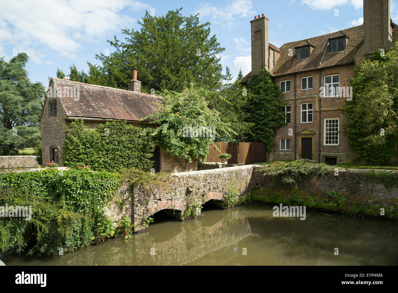 groombridge place moated manor house kent 1 stock photo royalty