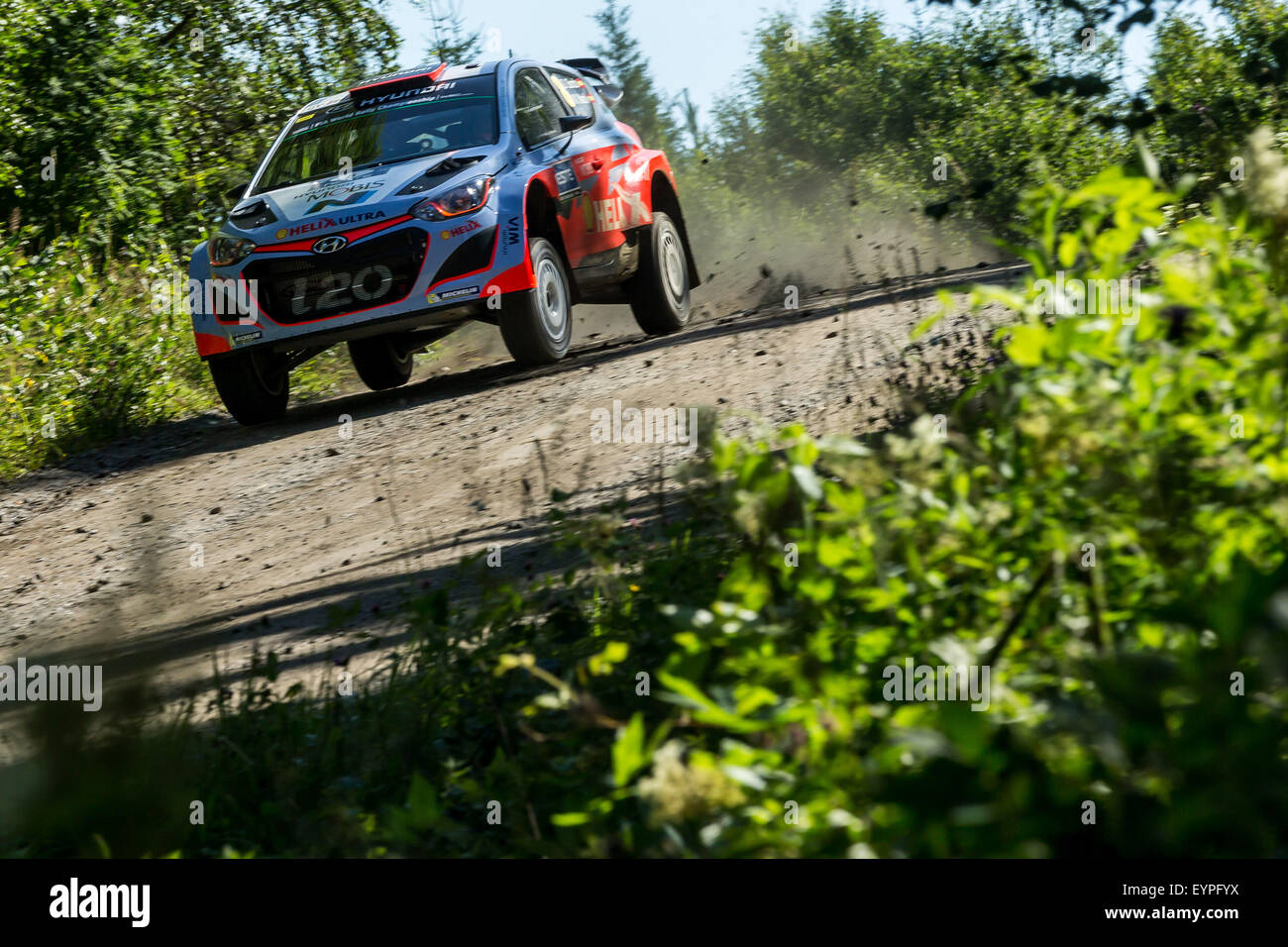 Rally Motor Credit >> Finland. 02nd Aug, 2015. World Rally Championships (WRC) of Finland Stock Photo, Royalty Free ...