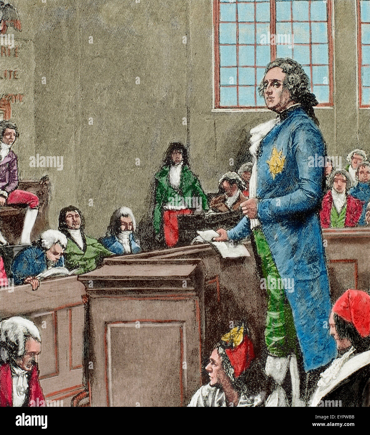 French Revolution (1789-1799). The convention. Judgment of ...