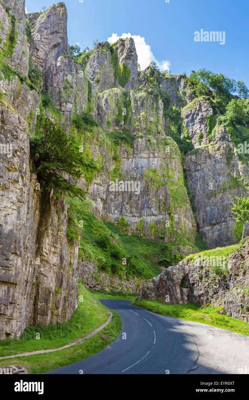 Stock Photo 15034729: Cheddar Gorge, Cheddar, Somerset, England, UK Stock Photo