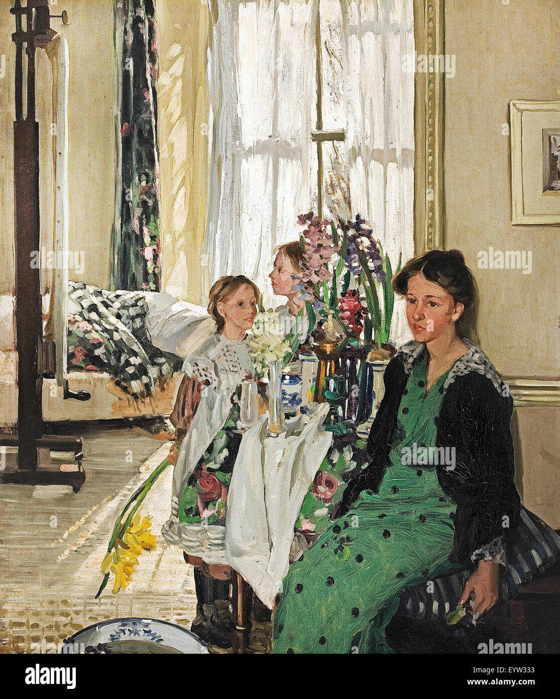 Hilda fearon studio interior 1914 oil on canvas art for 333 south terrace adelaide
