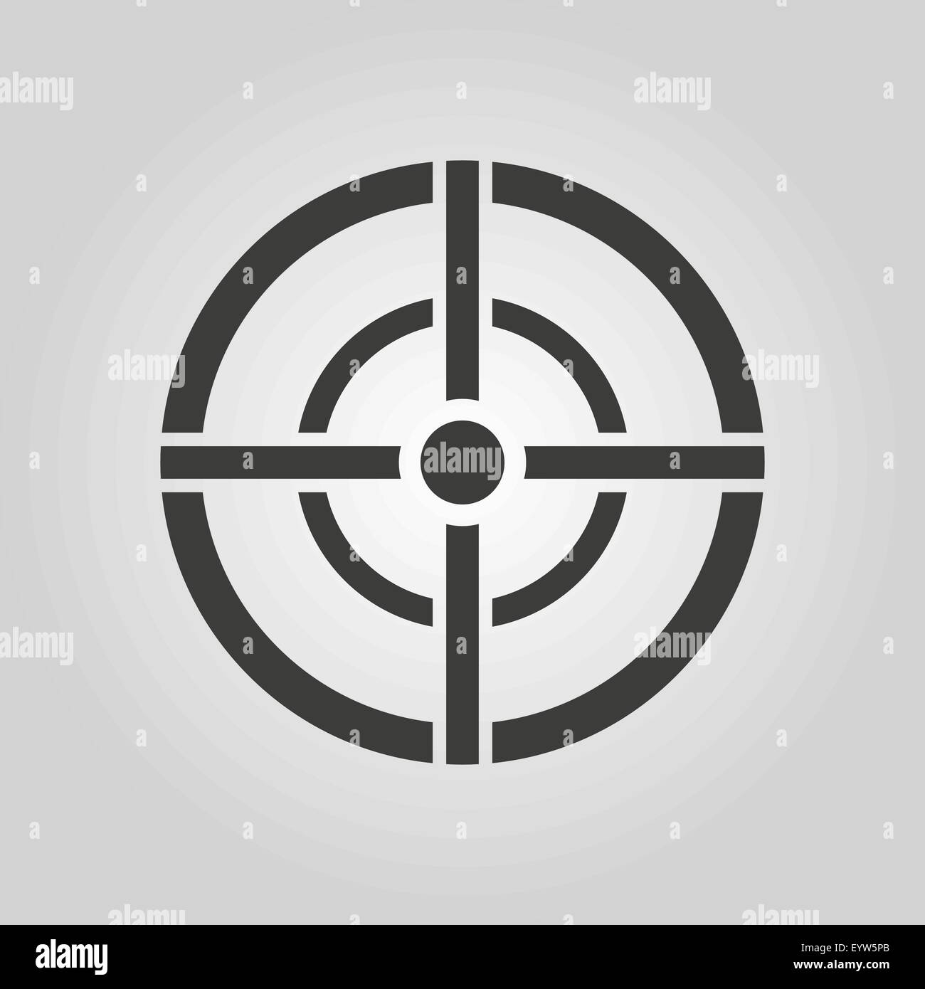 The aim bag icon crosshair and target sight sniper symbol flat crosshair and target sight sniper symbol flat buycottarizona Image collections