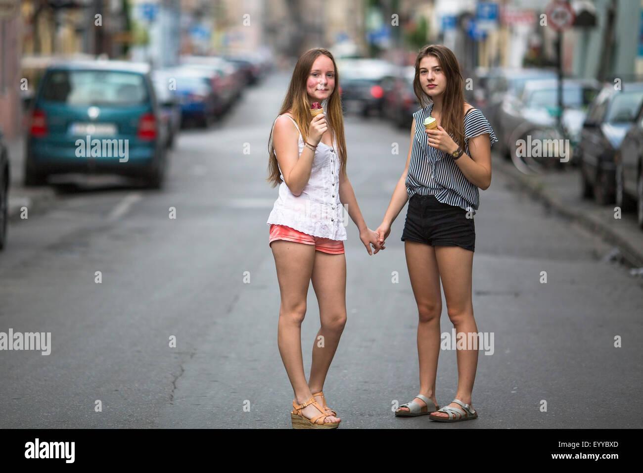 Teen On The Street 32