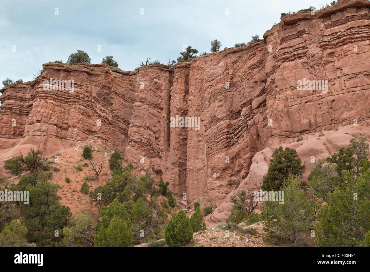 Colorado Plateau Region Stock Photos  Colorado Plateau Region - Map of colorado plateau region