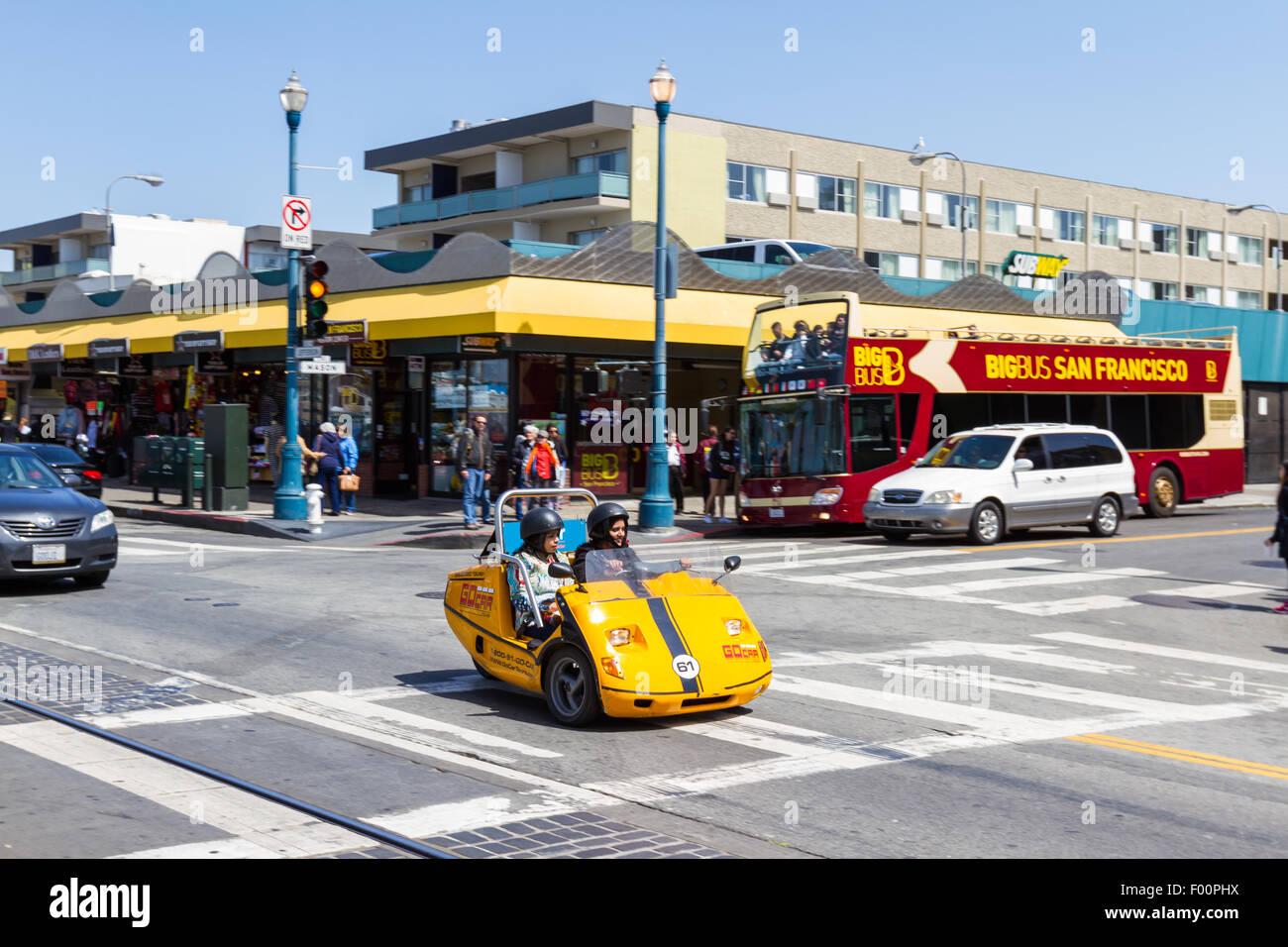 Electric Car Rental In San Fransisco