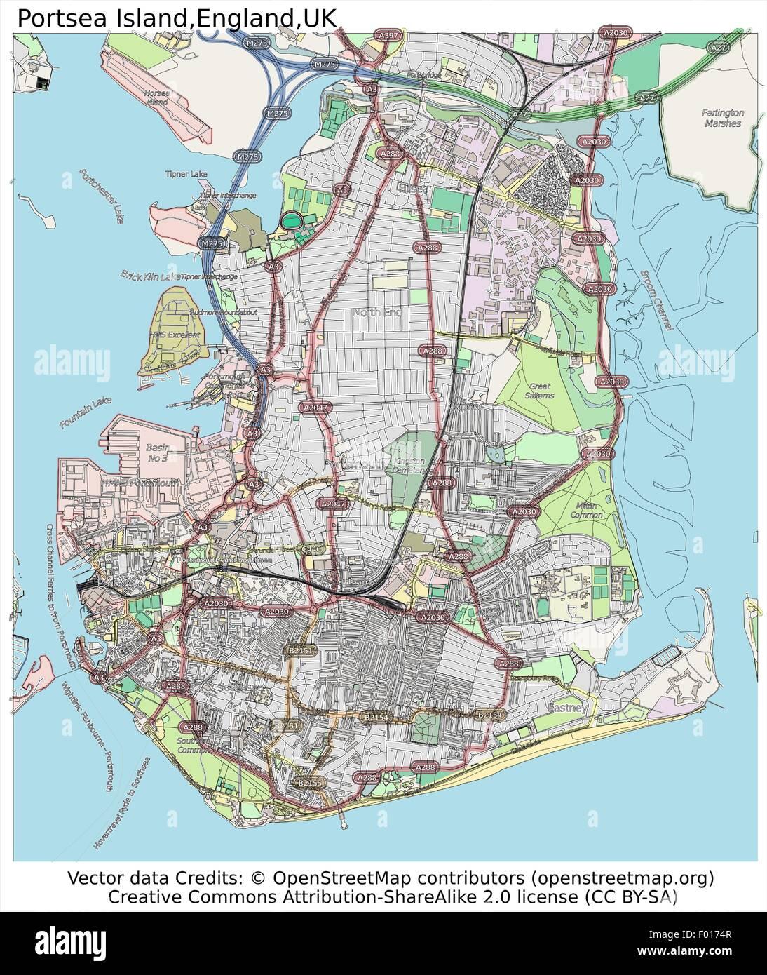 Portsea united kingdom