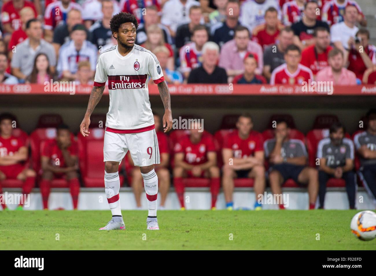 Luiz Adriano Milan AUGUST 4 2015 Football Soccer Audi