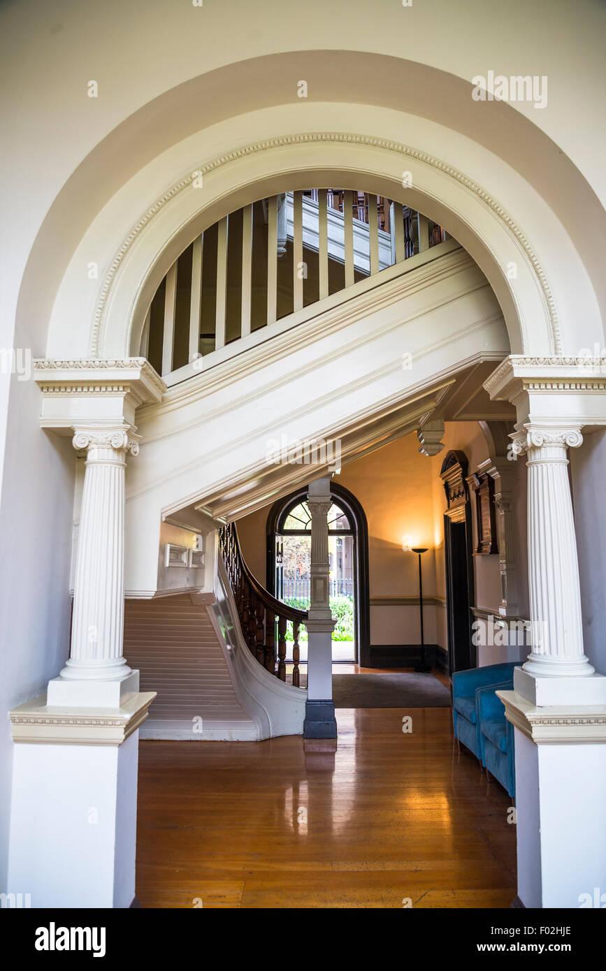 Colonial Style Interior colonial style interior, the mint, sydney, australia stock photo