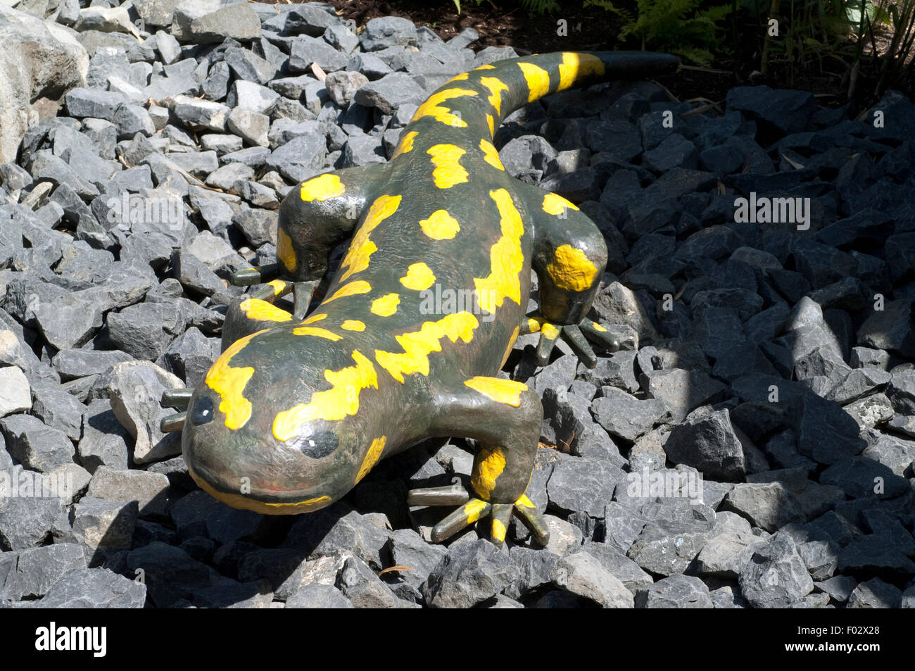 Feuersalamander, Salamander, Gartendekoration