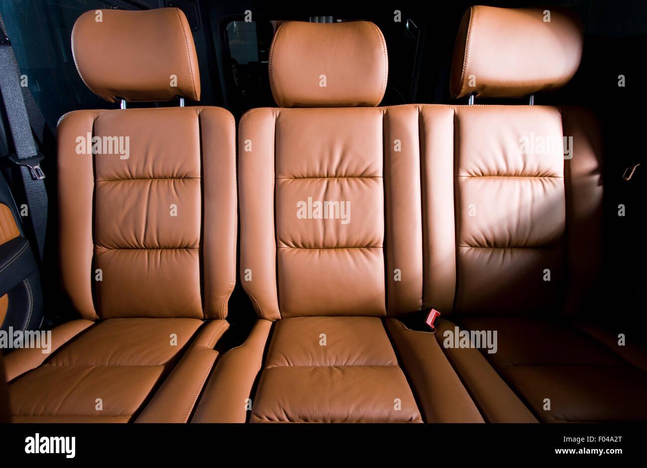 back passenger seats in modern comfortable car stock photo royalty free image 86147568 alamy. Black Bedroom Furniture Sets. Home Design Ideas