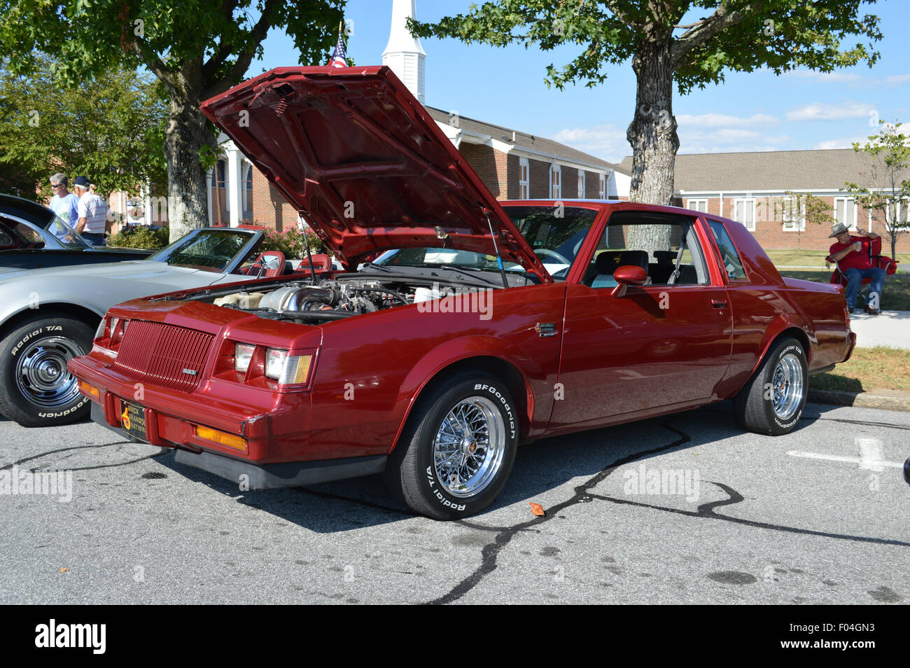A vintage buick grand national car stock image
