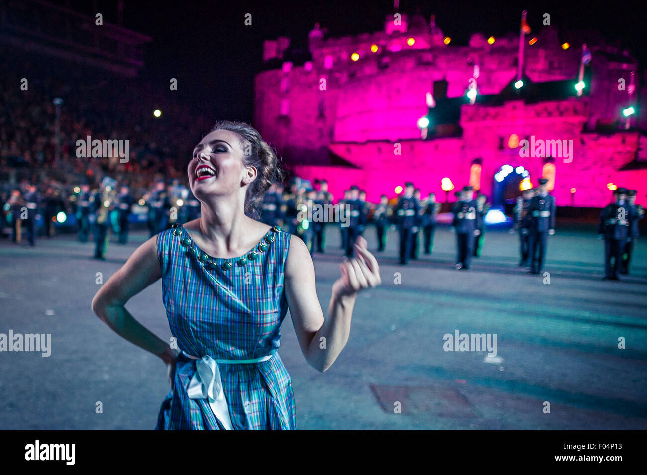 Edinburgh scotland uk 6th aug royal edinburgh for Royal edinburgh military tattoo