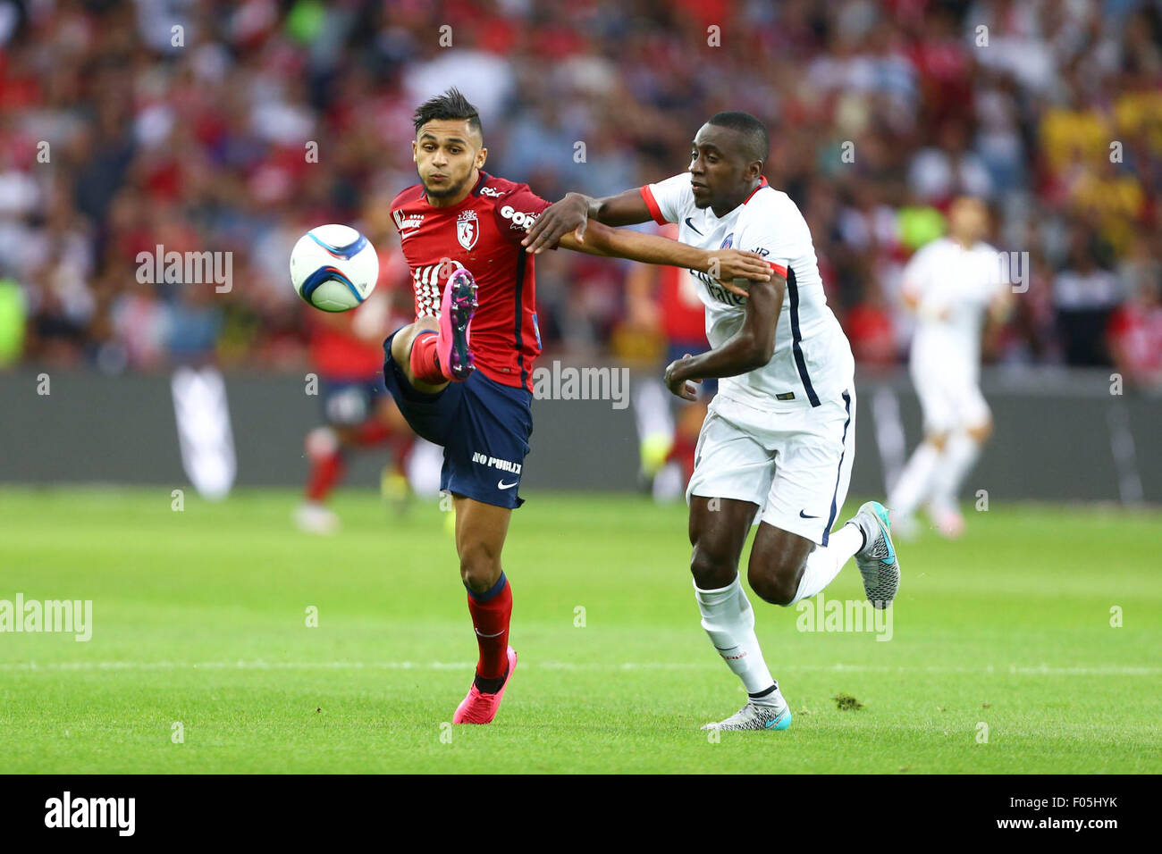 Lille, France. 07th Aug, 2015. French League 1 football ...