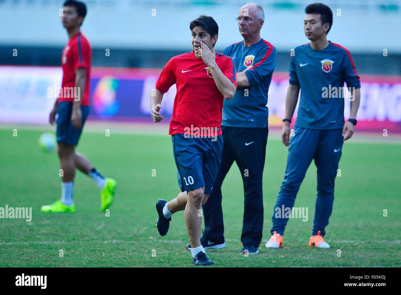 Shanghai China 3rd Aug 2015 Shanghai SIPG forward DARIO CONCA