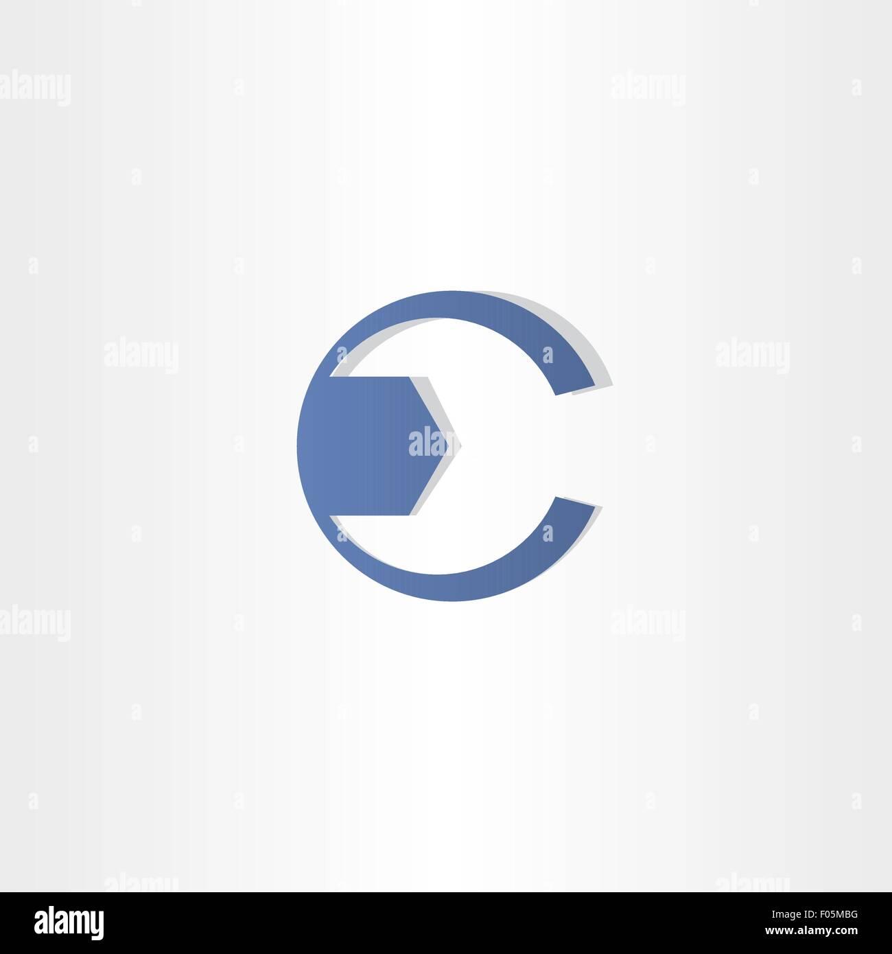 Mechanic key letter c symbol vector design sign stock vector art mechanic key letter c symbol vector design sign biocorpaavc Images