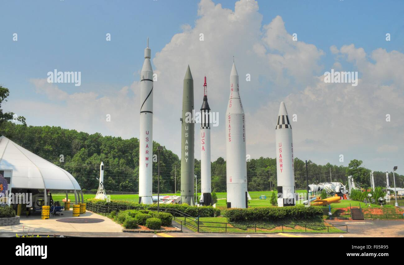 test space rockets at the u s space u0026 rocket center in huntsville