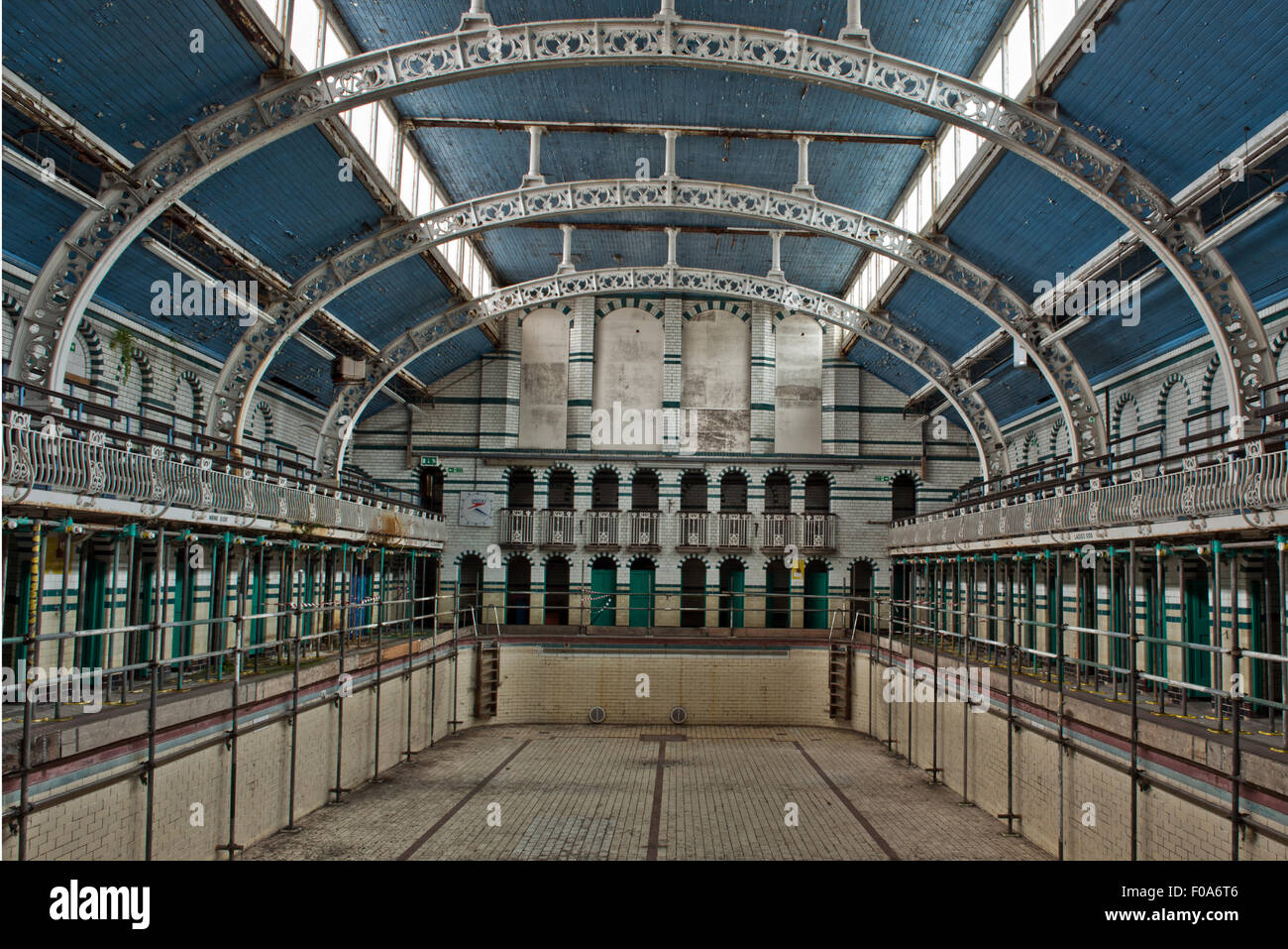 The Closed Main Pool In Moseley Road Swimming Baths Balsall Heath Stock Photo Royalty Free