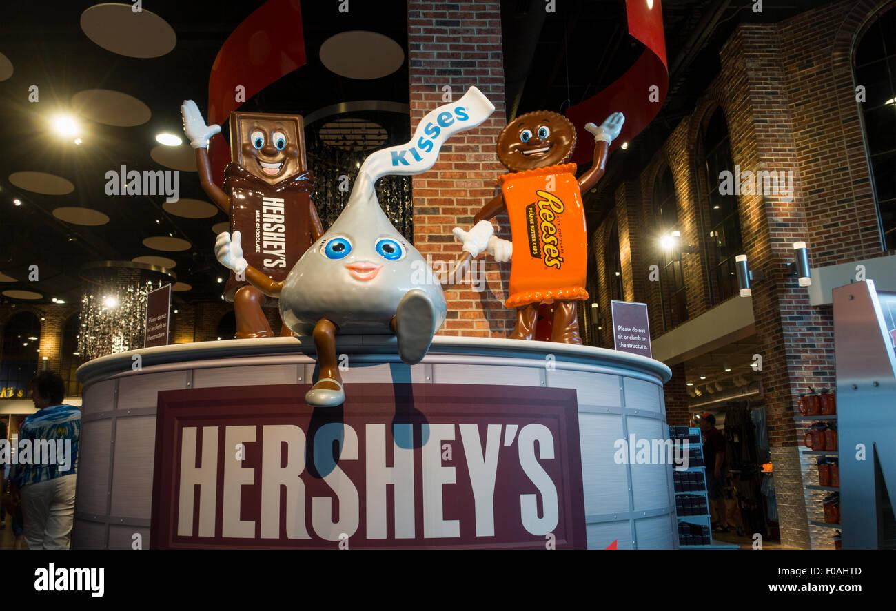 Hershey's Chocolate World tour in Hershey PA Stock Photo, Royalty ...