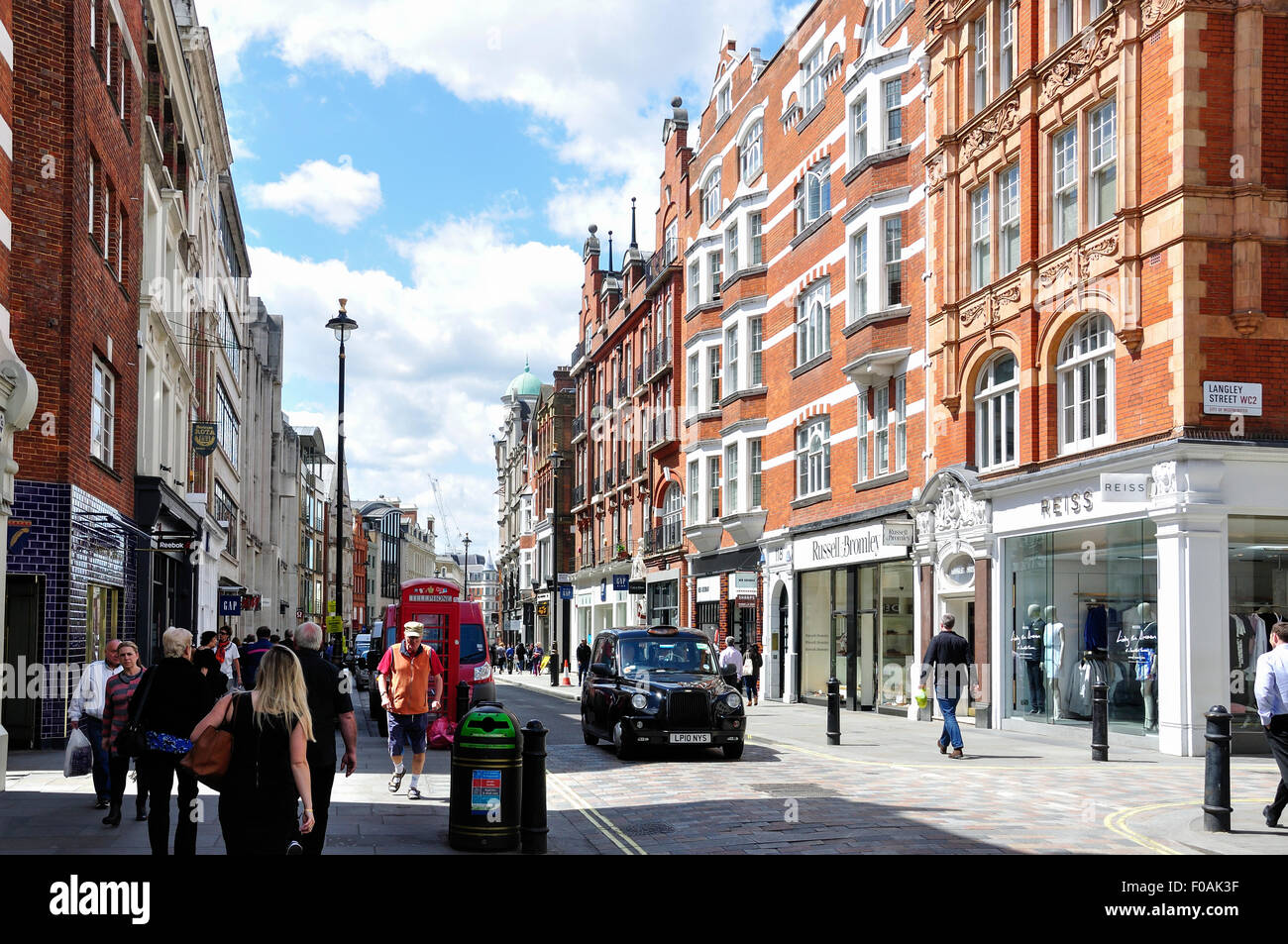 Long Acre Covent Garden City Of Westminster London England United Kingdom