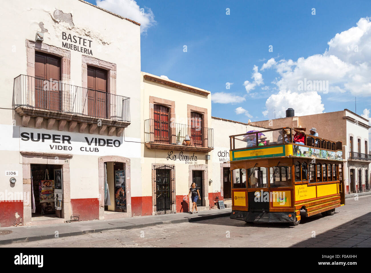 Colonial Houses Zacatecas Mexico Stock Photos Colonial Houses  # Muebles Calle Fatima