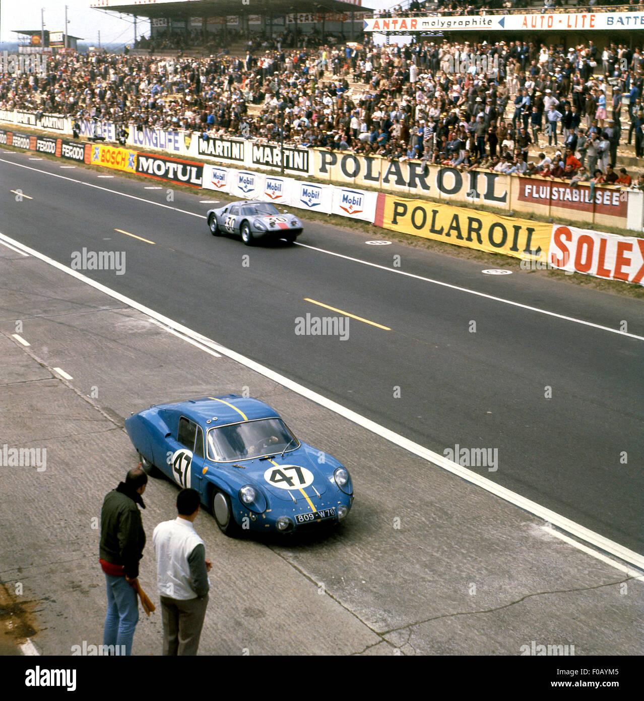 Le Mans 24 Hours 1964 No 47 Mauro Bianchi Jean Vinatier