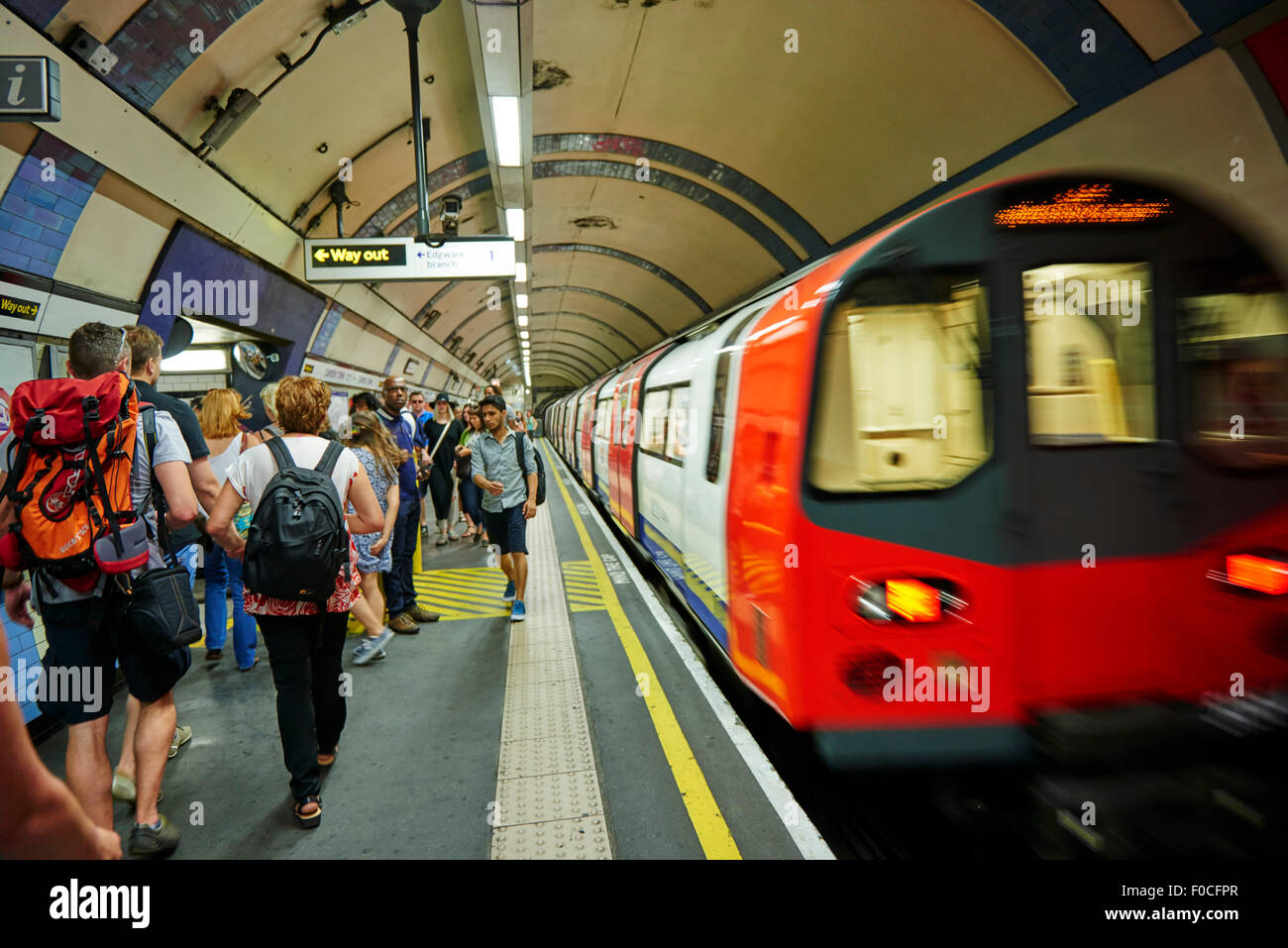 London Tube, London, United Kingdom, Europe Stock Photo, Royalty ...