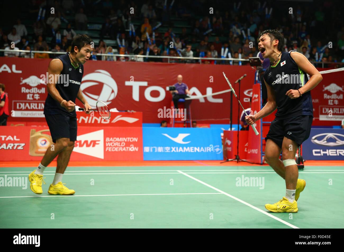 Istora Senayan Arena Jakarta Indonesia 12th Aug 2015 Keigo
