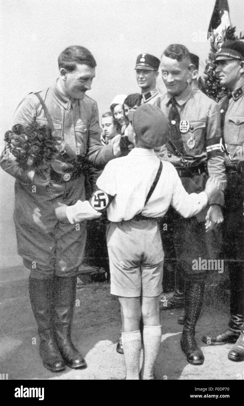 the campaigns of adolf hitler Receives the lion's share of credit for campaigns that branded the nsdap and the nazi state heinrich hoffmann adolf hitler's personal lichtbildner and publicist.