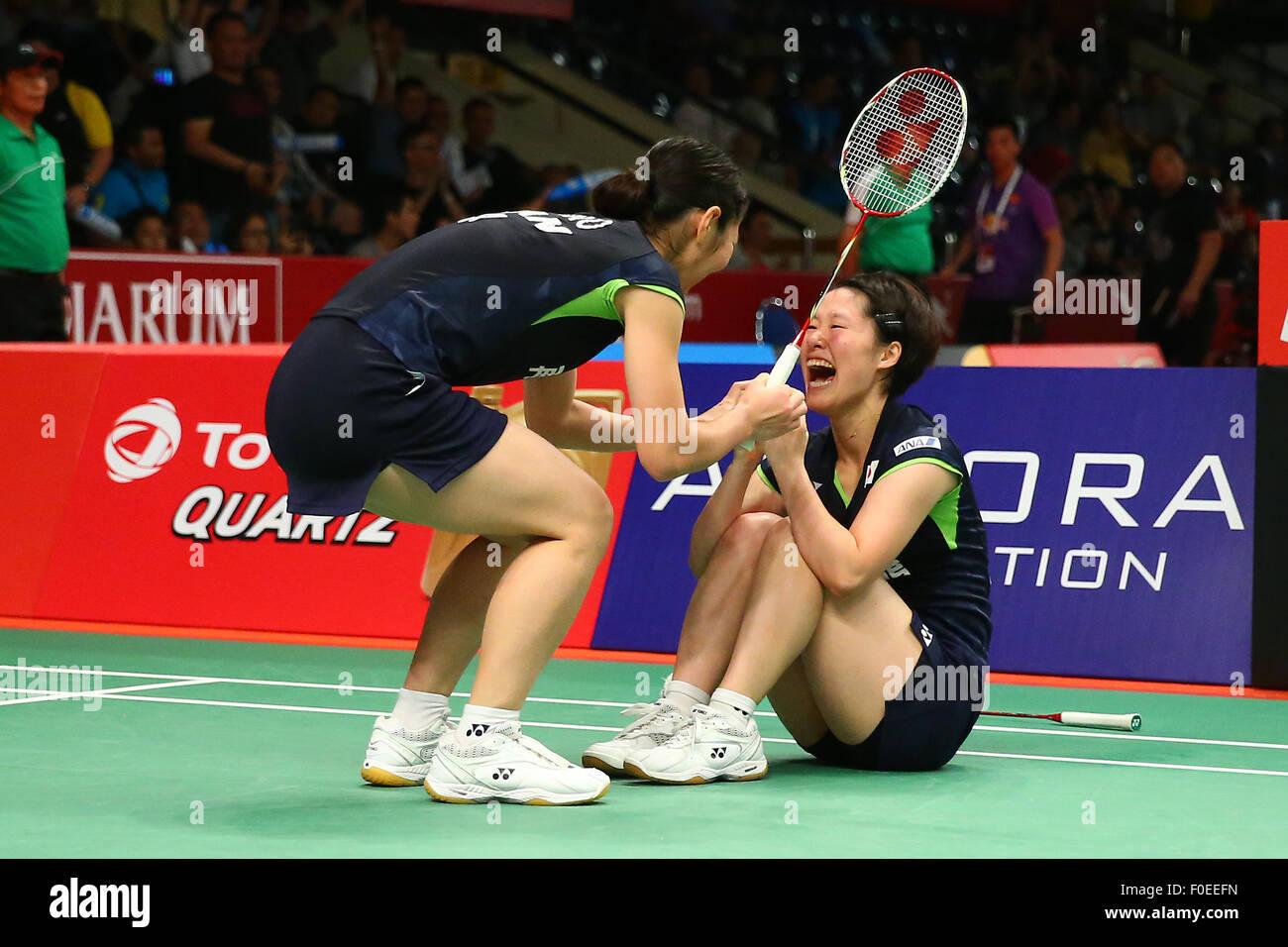 Istora Senayan Arena Jakarta Indonesia 13th Aug 2015 Naoko