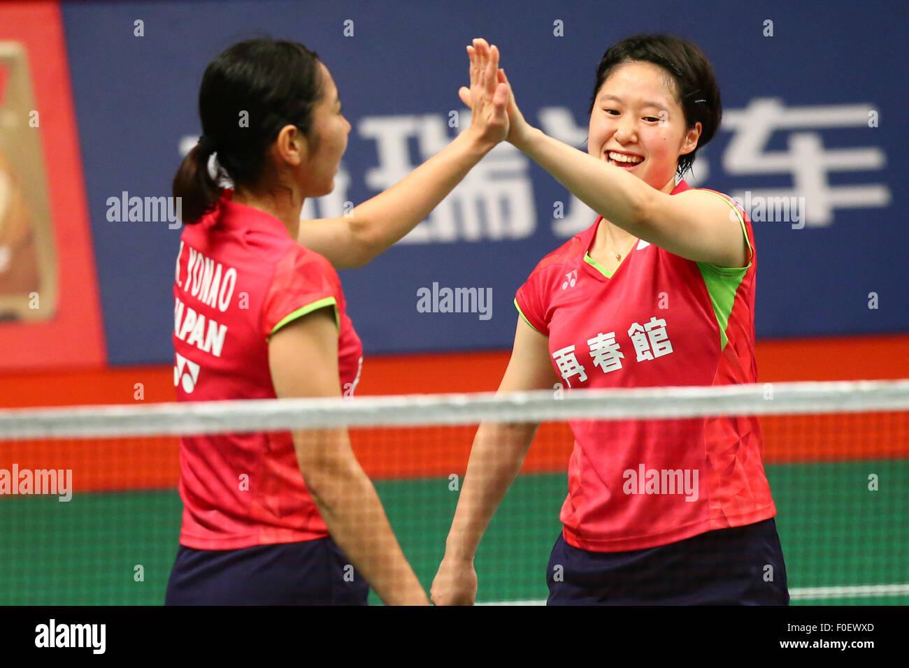 Istora Senayan Arena Jakarta Indonesia 14th Aug 2015 Naoko