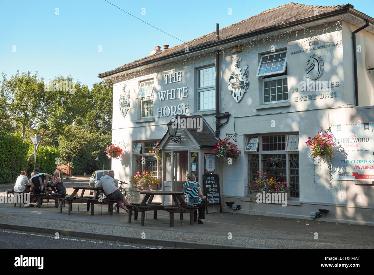 The white horse pub brentwood essex england united for The brentwood