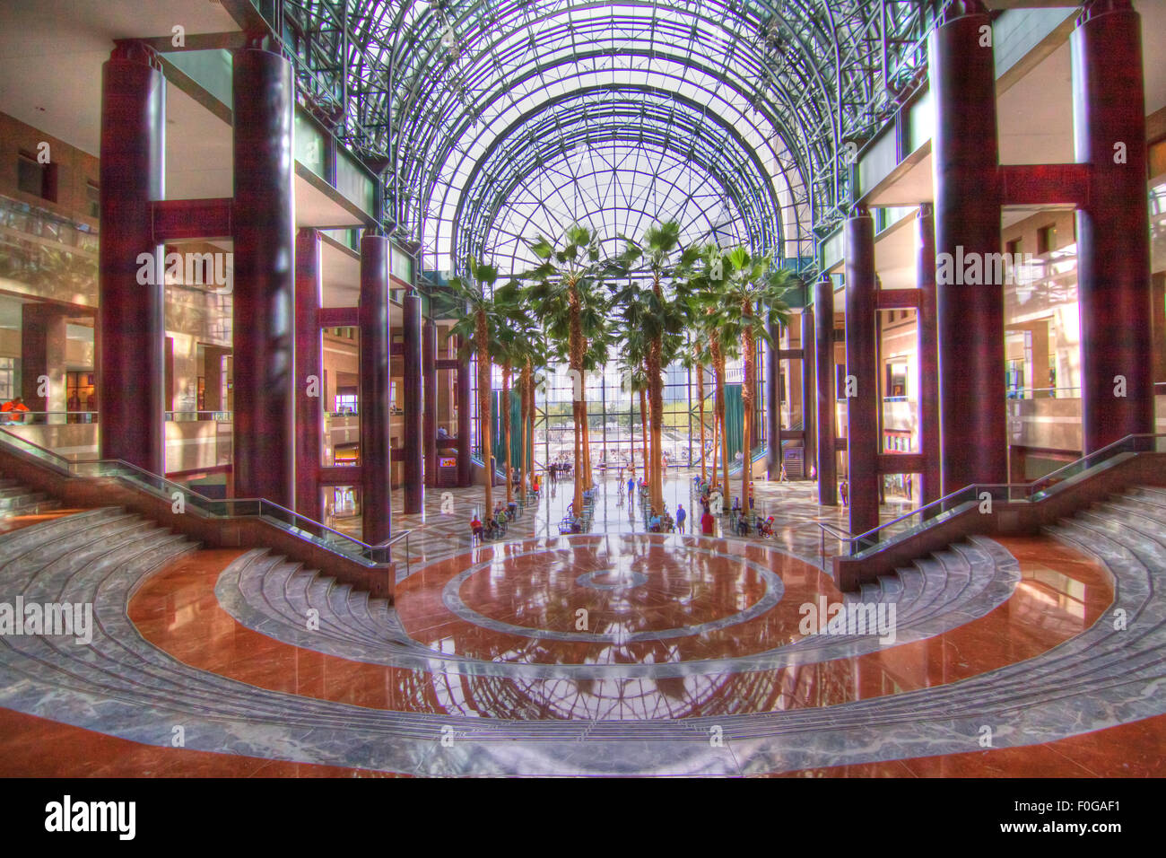 winter garden of the world financial center in new york city u0027s